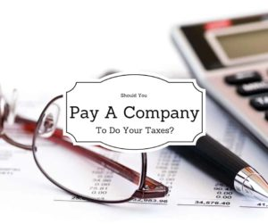 Pay Someone To Do Your Taxes