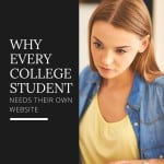 Why every college student should have a website