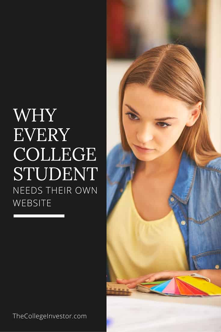 Why Every College Student Needs Their Own Website