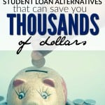 If you're looking to escape your student loan debt one of these five student loan alternatives could save you thousands of dollars!