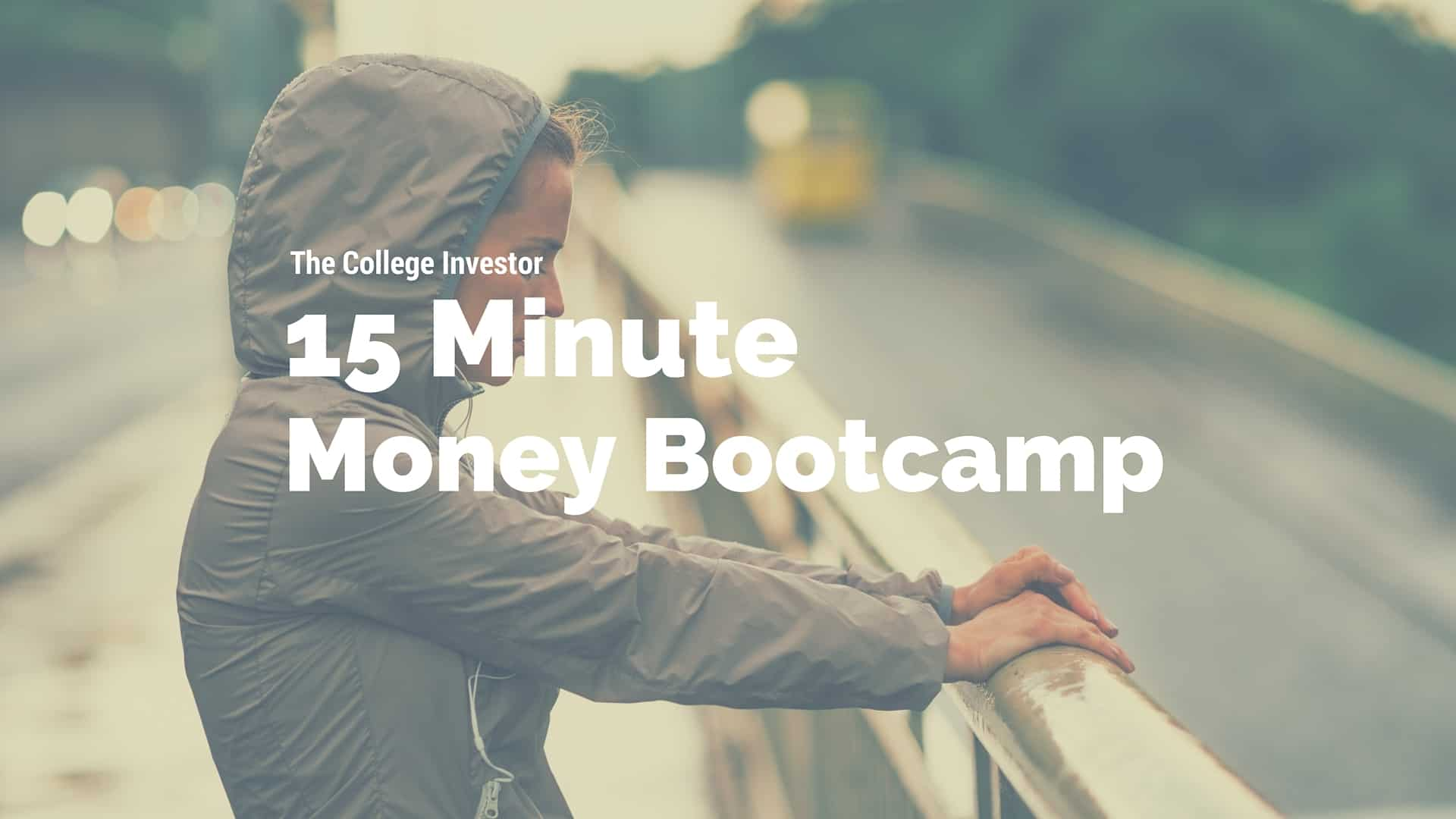 Each week The College Investor hosts a 15 Minute Money Bootcamp on Facebook Live to share actionable money tips for millennials.