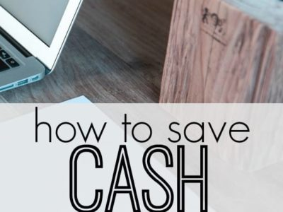 If you want to remain debt-free you need to start paying with cash. Here's how to save cash for a large purchase. Nine tips that work!