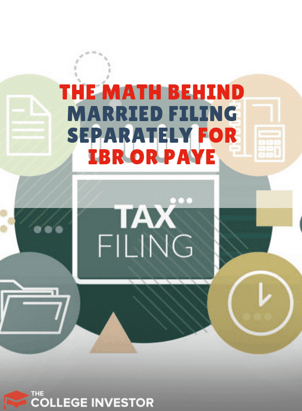 Student Loans IBR PAYE Married