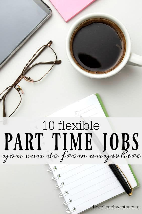 If you're managing a busy schedule but also need to earn some extra income here are ten flexible part time jobs that you can do from anywhere.