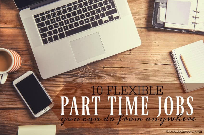 10 Flexible Part Time Jobs You Can Do From Anywhere