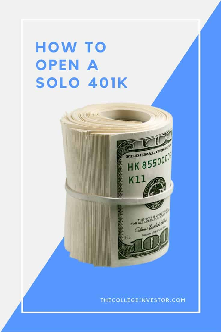 How To Open A Traditional And Roth Solo 401k