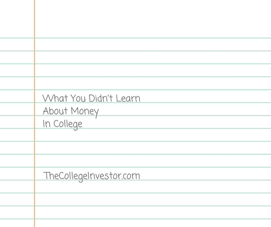 What You Didn\'t Learn About Money In College