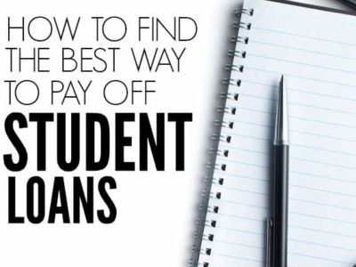 Want to get rid of your student loans once and for all? Here's how to figure out the best way to pay off your student loans.
