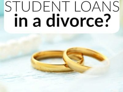 Wondering what happens to student loans in a divorce? The answer isn't as straightforward as you think. Here's what you need to know.