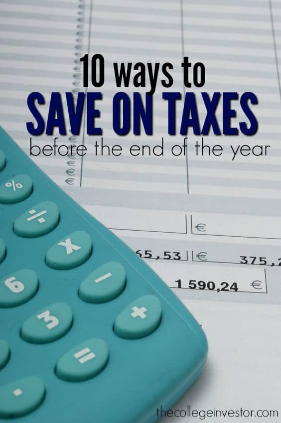 Ways To Save On Taxes