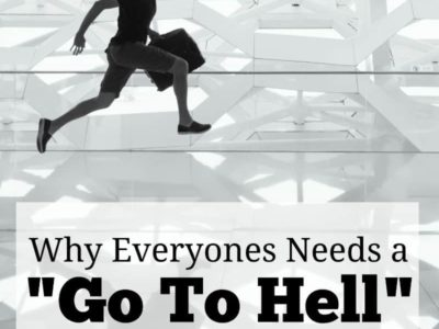 If you want to have job freedom you need to go to hell money. Without you'll be stuck doing whatever you need to get by. Here's how to start saving.