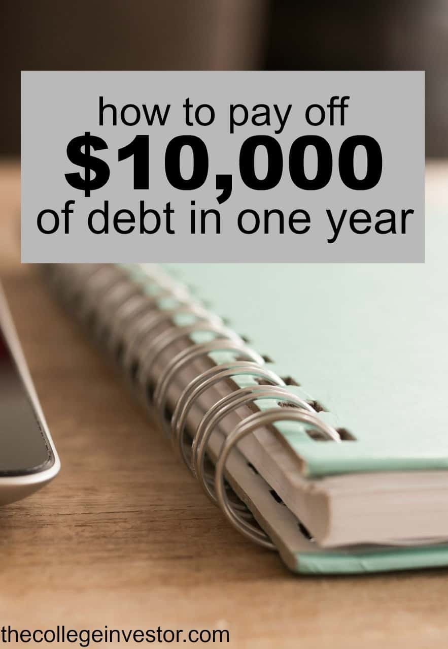 Paying off debt can feel overwhelming if you don't where to start. Here's how to pay off $10,000 of debt in one year - step by step.