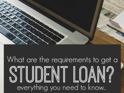 While there are requirements to get a student loan the criteria might not be as stringent as you think. Here's what you need to know.