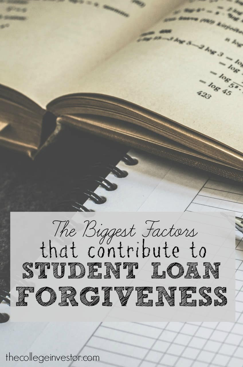 Here are the biggest factors that contribute to student loan forgiveness eligibility to wipe away your student loans.
