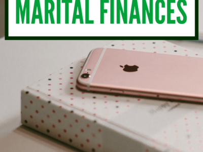 If you're a women in a serious relationship now is not the time to hand over full control of the finances. Here's what to do instead.