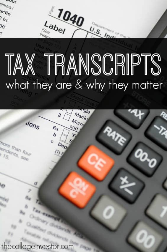 The IRS recommends that you keep at least 3 years of tax returns. But what if you can't find your tax return? Tax Transcripts are the answer.