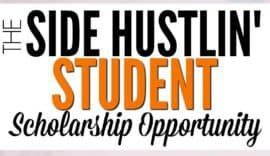 side hustle scholarship opportunity