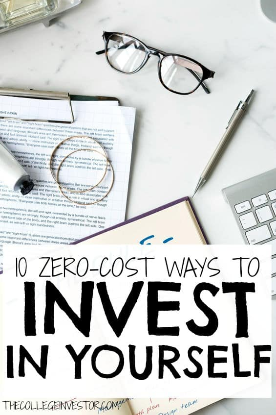 If you're looking to invest in yourself this year but don't have a whole lot of money, don't worry! Try one of these ten impactful ideas.