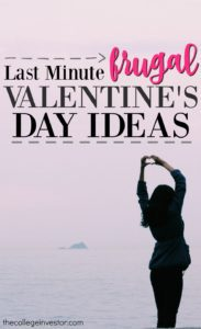 last minute frugal valentines day ideas