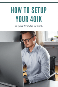 How To Setup Your 401k