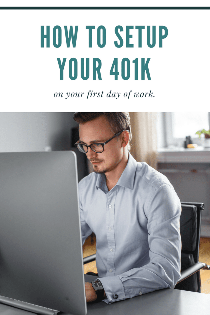 Learn how to setup your 401k when you start a new job or enroll a retirement plan for the first time at your employer.