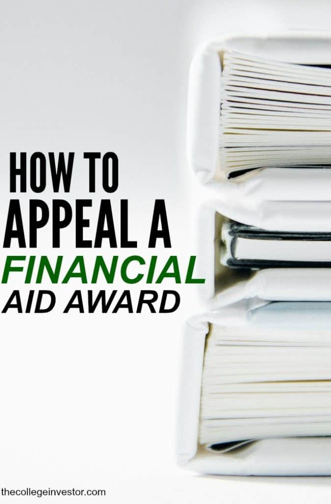 Not happy about the amount of financial aid you've received for school? Here's how to appeal a financial aid award.