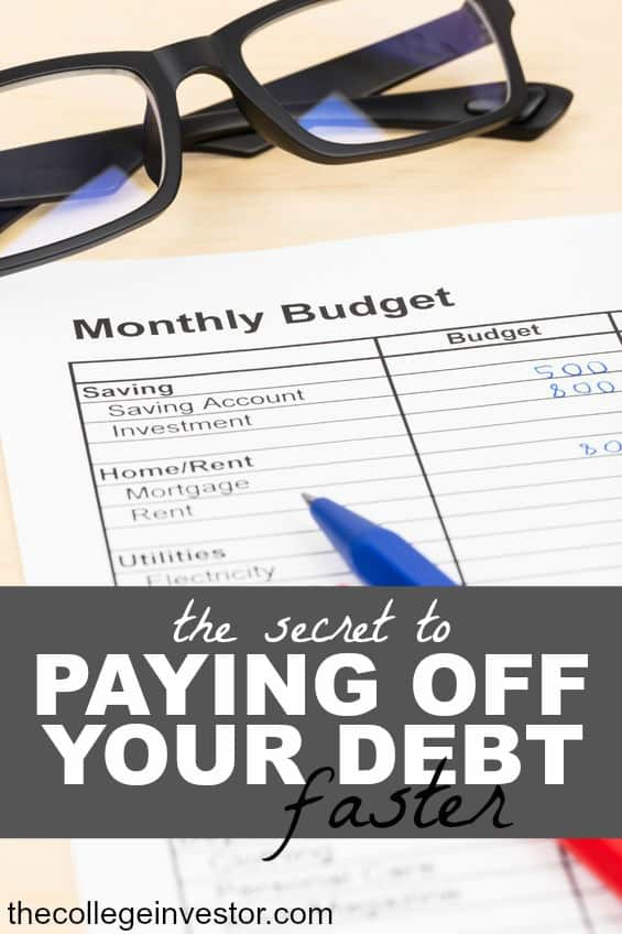 If you want to pay down your debt faster you certainly can! There are two main strategies that will help you accelerate your debt pay-off.
