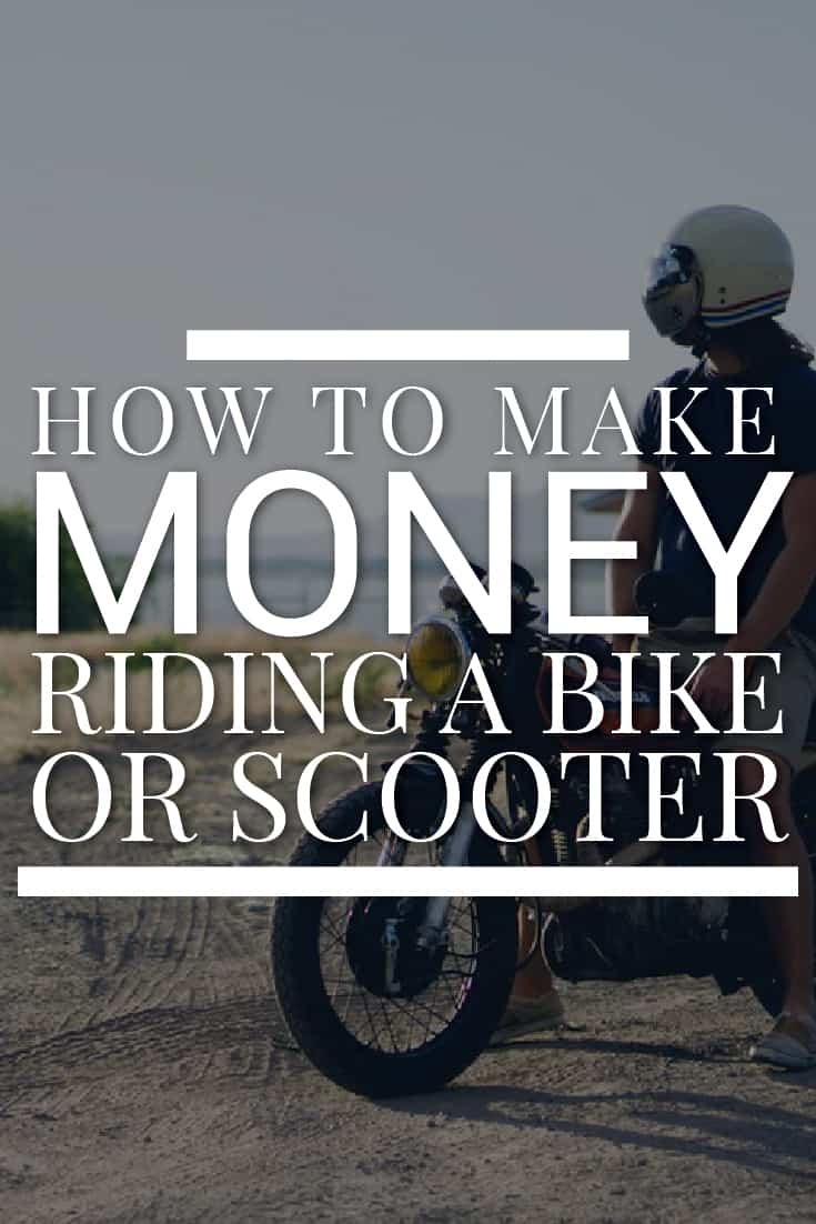 Make Money Riding A Bike