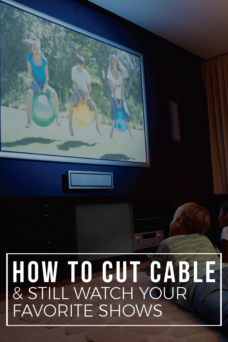 Want to cut cable and still watch all your favorite shows? This post will show you how.