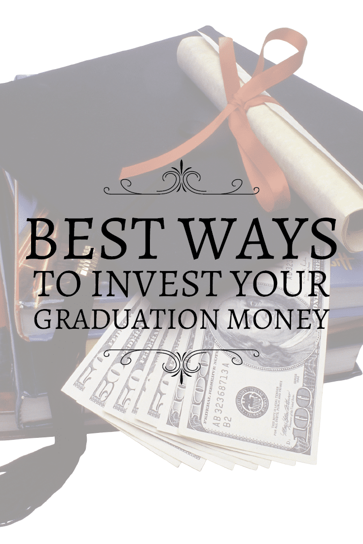 Received any graduation money this summer? Here's how you can use your gift money wisely by saving or investing it.