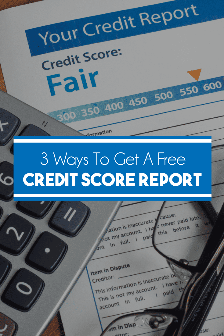 Knowing your credit is important. Here are 3 easy ways to get a free credit score report.