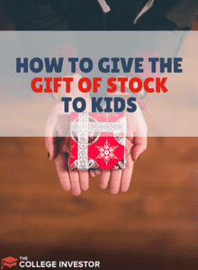 How to Give Kids the Gift of Stock