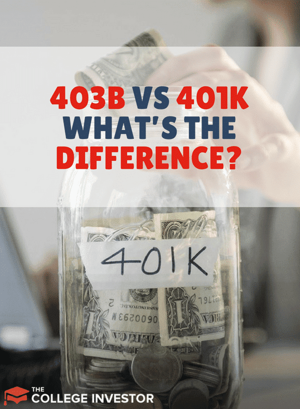 So what's the difference between a 403b and a 401k? This is it!
