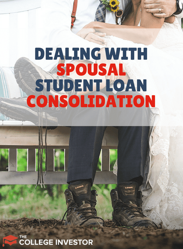 Spousal Consolidation Loans are some of the worst student loans that borrowers can get into due to their lack of repayment plan and other options. Here's what you can do if you're dealing with Spousal student loan consolidation loans.