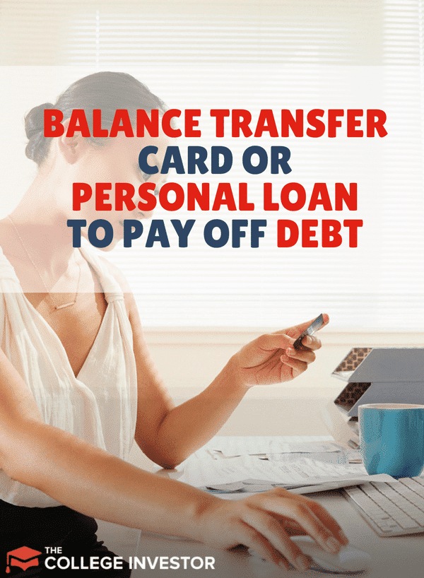 If you're looking to save money while paying down debt, should you use a 0% balance transfer card or a personal loan to save the most?