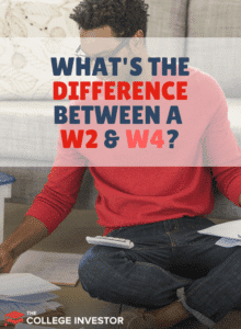 What's The Difference Between A W2 and W4?