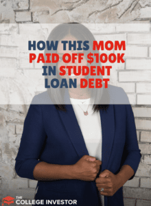 How This Mom Paid Off $100,000 In Student Loan Debt