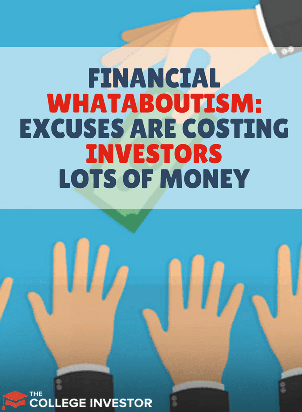 Investors making excuses in a sort of financial whataboutism are costing themselves a lot of money in fees, commissions, and returns - simply because they don't want to admit they are wrong and try something different.