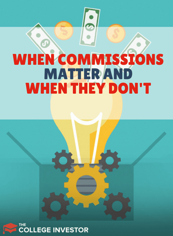 You may run into commissions as a part of building your portfolio, learn more about when they matter and when they don't! ????