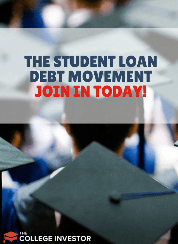 We're kicking off the student loan debt movement today with the goal of reducing or eliminating over $1,000,000 in student loan debt during the month of March.