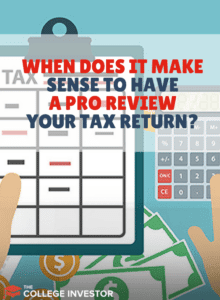 Have A Tax Pro Review Your Tax Return