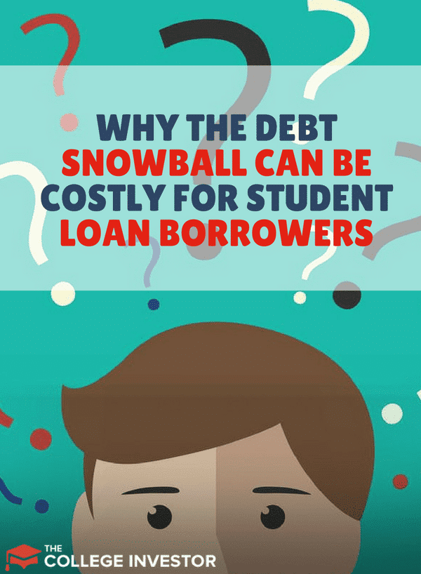 Have you heard about the debt snowball method? ????Well, this method can be costly for student loan borrowers. Read more here!