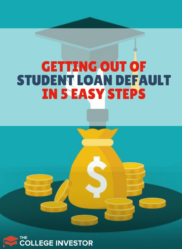 You can get out of student loan default and repair your credit score — if you follow the right steps. One step is to contact your loan holder. Here are the other steps.