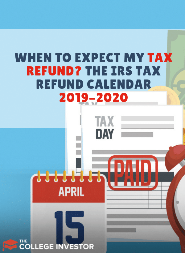IRS Refund Schedule 2019 2020