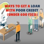 ways to get a loan with poor credit