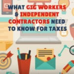 gig workers and independent contractors taxes