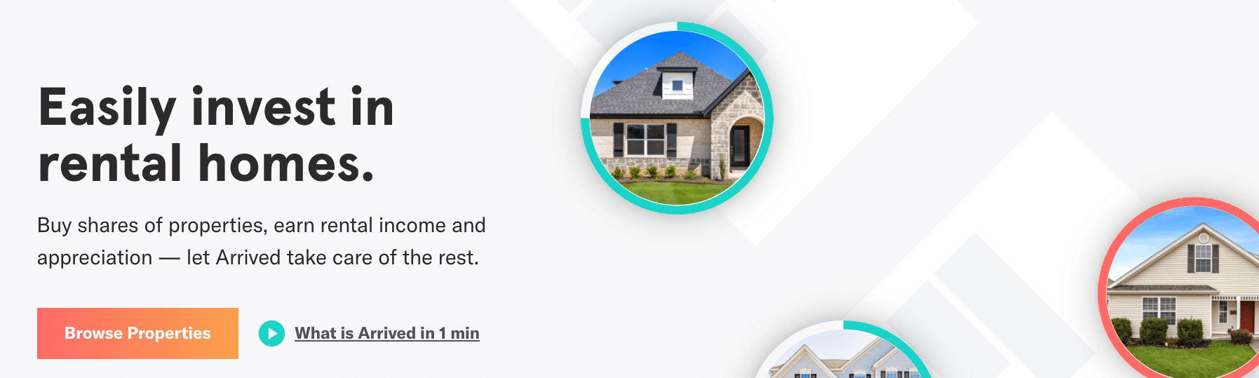Arrived houses, how it works